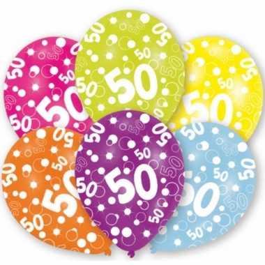 36x abraham & sarah 50 jaar leetijd ballonnen