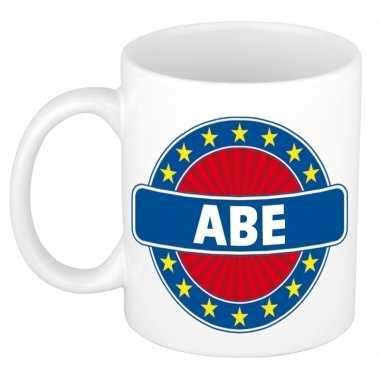 Abe naam koffie mok / beker 300 ml