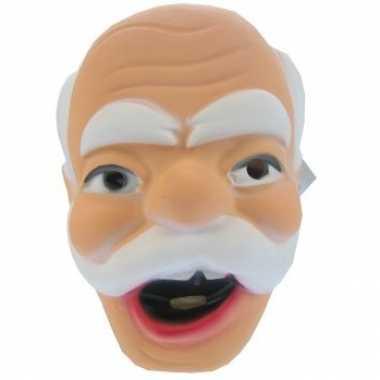 Abraham masker met snor