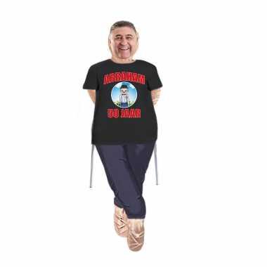 Abraham pop opvulbaar met abraham pop shirt/ kleding
