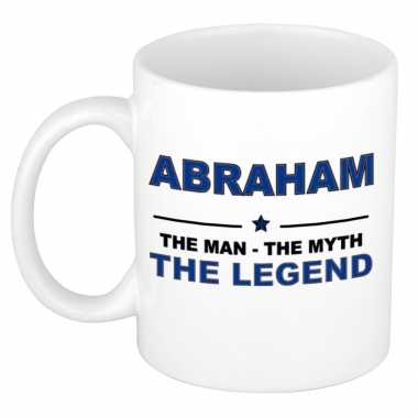 Abraham the man, the myth the legend cadeau koffie mok / thee beker 3