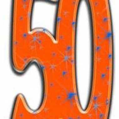 Groot decoratie bord 50