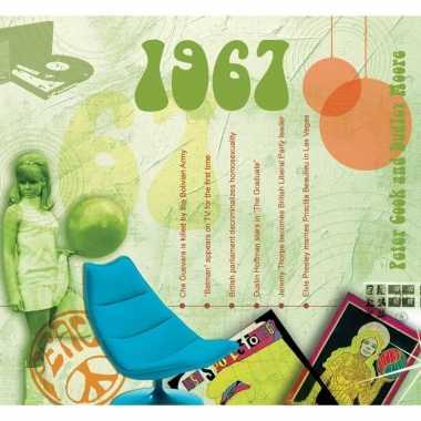 Historische verjaardag cd-kaart 1967