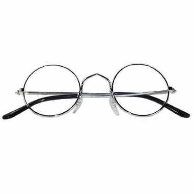 Ronde oma/opa bril metalen montuur