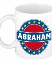 Abraham naam koffie mok beker 300 ml