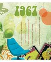 Historische verjaardag cd kaart 1967